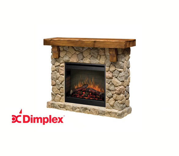 Fieldstone 2kW Electraflame 26 inch Electric Fire with Mantle