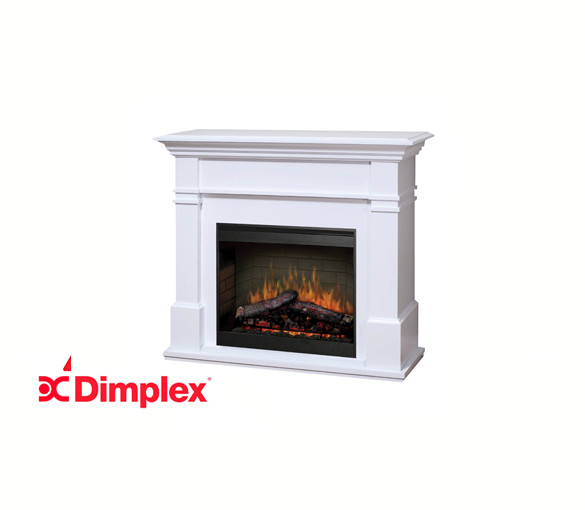 Kenton White 26 inch Electric Fire with Mantle