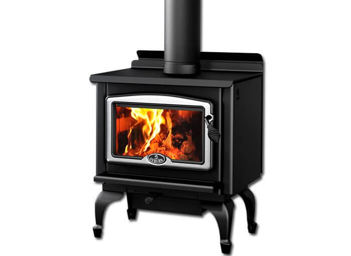 osburn 1000 black leg & silver door