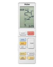HAIER Elite 2.5kw Hi-Wall Split System Remote